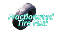 Fractionated Tire Fuel